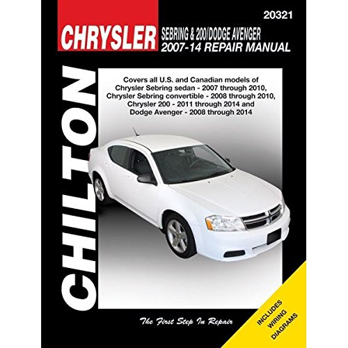 Chrysler Sebring & 200 Dodge Avenger Automotive Re