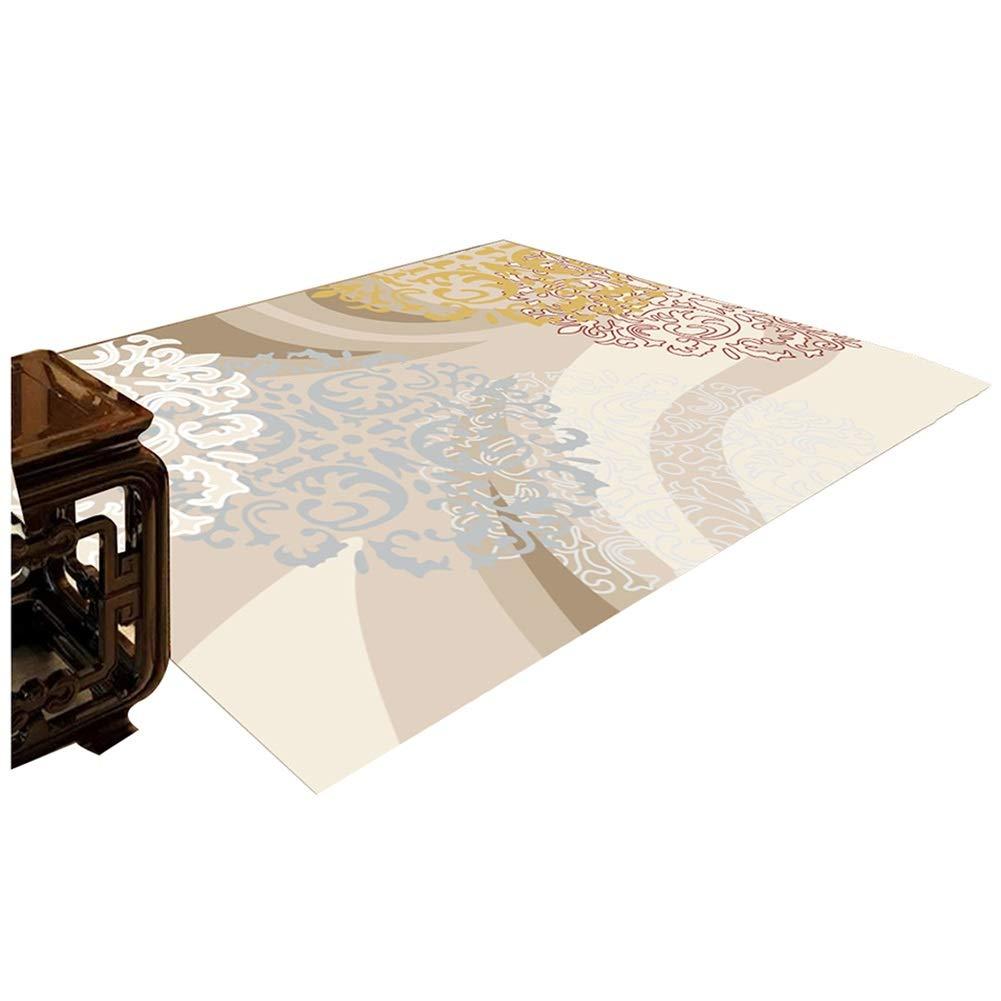 ZEMIN 廊下敷きカーペッ 単純な マット 柔らかい カーペット 防音 じゅうたん リビングルーム、 マルチサイズカスタマイズ可能 (Color : A, Size : 1x7m) B07SGM9LRW A 1x7m