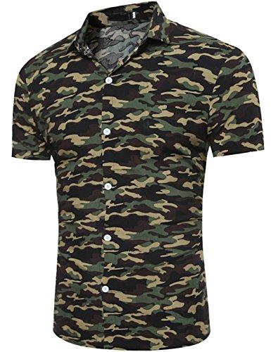formal camo dress shirts - 4