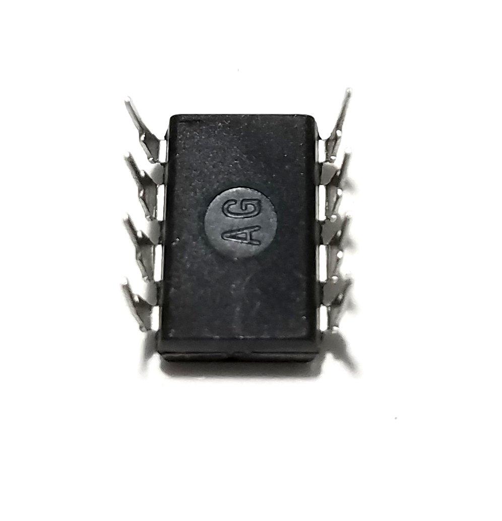 Semiconductor Nacional LM308 N IC amplificador operacional y 8 pines DIP socket con mecanizado Contacto Pins (Pack de 10): Amazon.es: Amazon.es