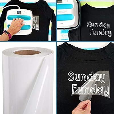 Vinilo de transferencia de calor para tela de camisetas - 16 hojas ...