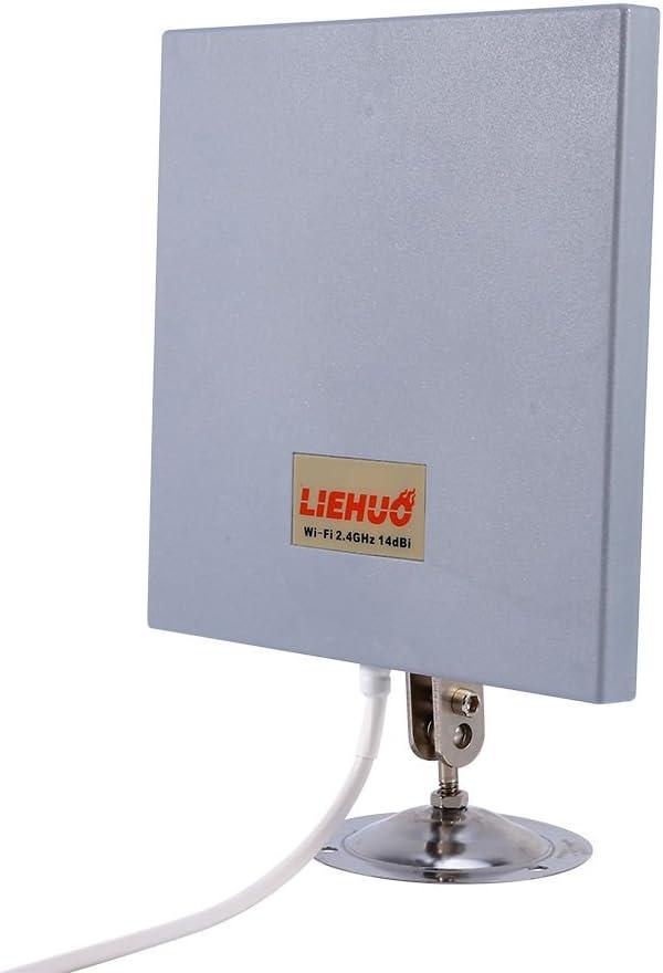 YOSOO Impermeable 14dbi 2.4Ghz Panel de Antena WiFi Wlan ...
