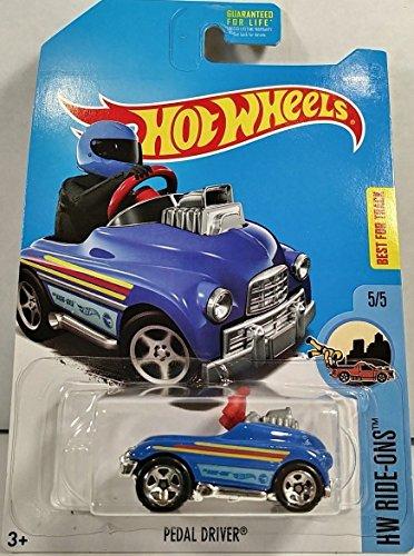 Mattel Hot Wheels Basic Die-Cast Regular Treasure Hunt Hw Ride-Ons - Pedal -