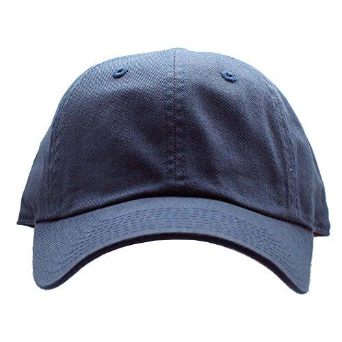 American Needle Baseball Cap - American Needle Washed Slouch Raglan Hat in Navy