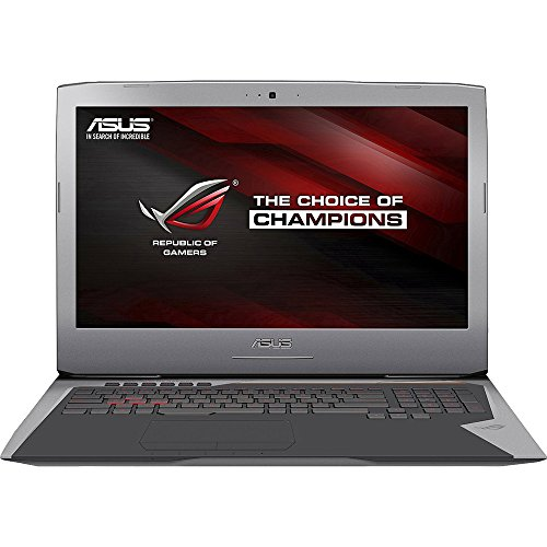 ASUS ROG G752VT-DH72 17 Inch Gaming Laptop, Nvidia GeForce GTX...