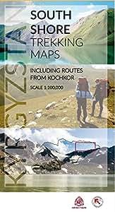 Issyk-Kol South Shore Trekking Maps - 2018 edition