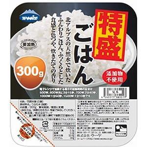 ウーケ ふんわりごはん 特盛り国内産100% 300g×24個