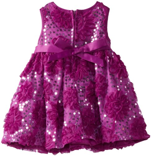 Bonnie Baby Baby-Girls Newborn Bonaz and Sequin Dress