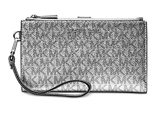 9566e62b7948 Michael Kors Jet Set Travel double Zip Wristlet