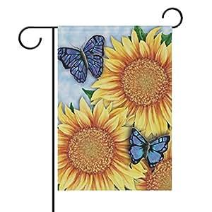 Amazon.com: ALAZA - Bandera de jardín con diseño de ...