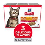 Hill's Science Diet Wet Cat Food, Adult, Minced Sa...