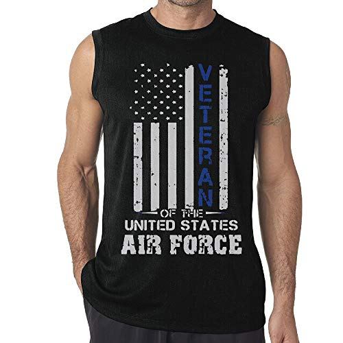 - Men's Veteran of The United States US Air Force Yoga Tank Top T-Shirt Muscle Tank Top Shirt