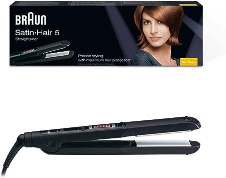 Braun ESS Satin Hair 5 Slim Plates Hair Straightener, 220 Volts