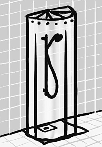 duschspinne duschfaltschirm ombrella wei duschvorhang top qualit t ebay. Black Bedroom Furniture Sets. Home Design Ideas