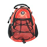 CMC Scottsdale Red Max Day Pack with Soccer Medallion