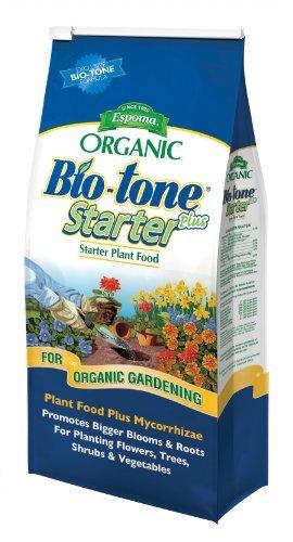 Espoma Organic Bio-Tone Starter Plus All Natural Plant Food - 4 lb Bag (Bio Plants)