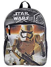 "Disney Star Wars Episode VII Boys' 16"" Stormtrooper Backpack"