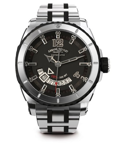 Armand Nicolet Men's A710AGN-GR-MA4710GN S05 Analog Display Swiss Automatic Silver Watch