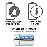 ACDelco 8-Count D Batteries, Maximum Power Super