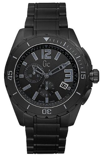 Price comparison product image Guess GC Sport Class XXL Blackout Ceramic Mens Watch X76010G2S