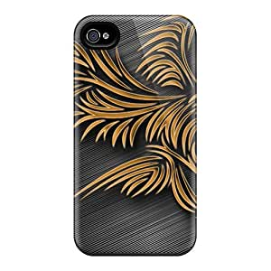 Awesome GCG279-lsg AccDavid Defender Tpu Hard Case Cover For Iphone 4/4s- Tribal Eagle