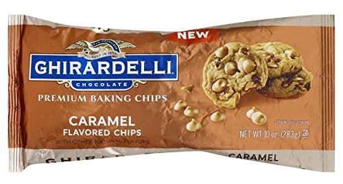 Ghirardelli Premium Caramel Baking Chips 10 oz. (Pack of 3) by Ghirardelli