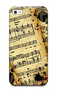 QESECtn1591EKxIL Abikjack Awesome Case Cover Compatible With Iphone 5c - Music Art