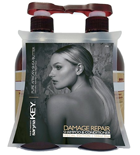 Saryna Key Damage Repair Shampoo & Conditioner 16.9 oz Each Special Edition by Saryna Key