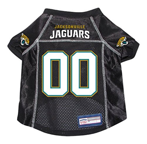 NFL Jacksonville Jaguars Hunter Pet Jersey, X-Large, Black