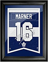 Toronto Maple Leafs Marner 12x16 Framed Player Number with Replica Autograph