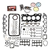 Evergreen Engine Rering Kit FSBRR4008EVE 94-01 Acura Integra B18C1 B18C5 Full Gasket Set, Standard Size Main Rod Bearings, Standard Size Piston Rings