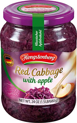 Hengstenberg Red Cabbage with Apple, 24 Ounce (Pack of 12)