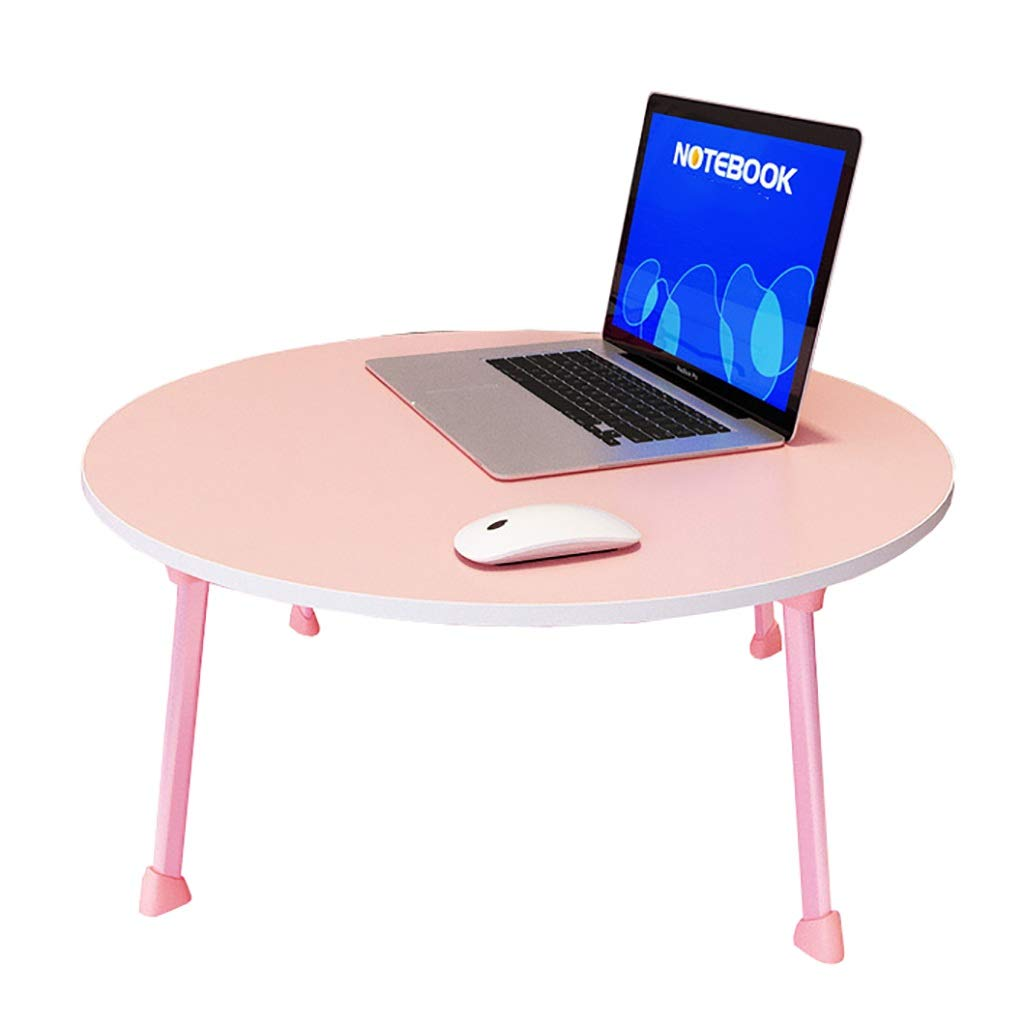 A NSS Laptop Table, No Need to Install, Easy to Fold, No Space, Multiple colors to Choose from Portable Desk (color   F)