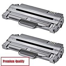TONER4U ® 2PK MLT-D105L New Compatible Toner Cartridge for Samsung ML-1910,ML-2525,ML-2525W,ML-2580N,SCX-4600,SCX-4623F,SCX-4623FN, F-650