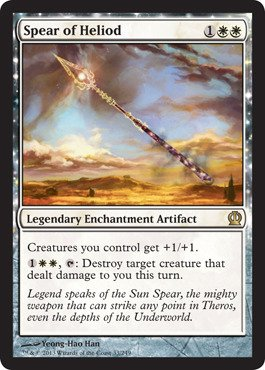 Magic: the Gathering - Spear of Heliod (33/249) - (White Spears)