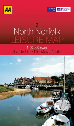 Leisure Map North Norfolk (AA Leisure Maps)