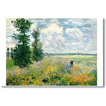 Amazon.com: Claude Monet - Study of a Figure Outdoors ...