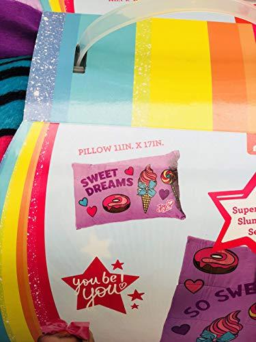 Nickelodeon JoJo Siwa 2 Piece Sleepover Set-Includes Sleeping Bag and Plush Pillow by Nickelodeon (Image #1)