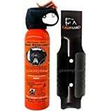 UDAP Bear Spray Safety Orange with Griz Guard Holster