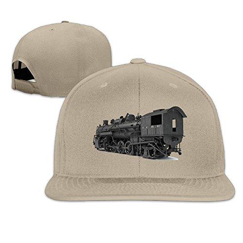 KIOJIANM Locomotive Train Classic Fashionable Baseball Caps For Girls Trucker Hats Snapback Workouts Train Trucker Hat