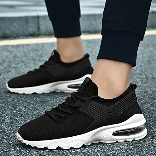 FR athlétique Noir Pointure Chaussures 39 Running Hommes Sneakers TUCSSON 44 Gym Baskets Course de Flyknit Sports Fitness Sn7nO8awq
