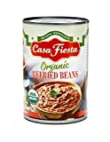Casa Fiesta Organic Refried Beans 16oz 12 pack