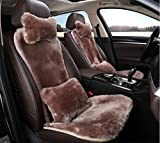 YAOHAOHAO The winter of hot-rolled wool car seat cover Cushion Short Fluff
