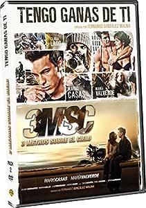 Pack 3 Metros Sobre El Cielo + Tengo Ganas De Ti DVD