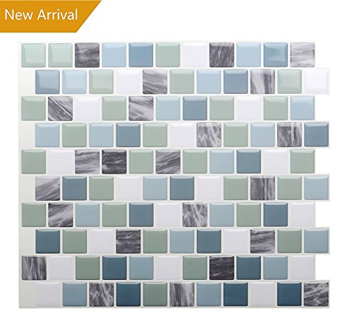 Vamos Tile Premium Anti Mold Peel and Stick Tile Backsplash,Self Adhesive Wall Tiles for Kitchen & Bathroom-10