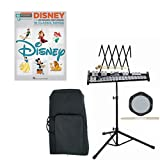 Band Directors Choice Educational Bell Kit Pack Disney Deluxe w/Carry Bag, Drum Practice Pad & Sticks & Disney Play Along Book