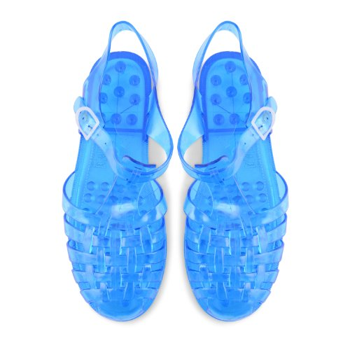 Footwear Sensation - Sandalias de vestir para mujer rosa rosa rosa - azul/transparente