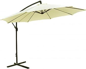 FDW 10' Patio Offset Hanging Umbrella