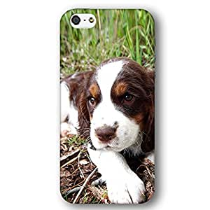 Springer Spaniel Dog Puppy iPhone 5 and iPhone 5s Slim Phone Case by lolosakes