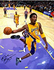 Kobe Bryant Reprint Reproduction Signed Autographed 11x14 Los Angeles Lakers Poster Print Photo